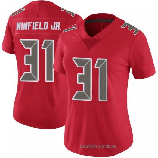 Nike Antoine Winfield Jr. Tampa Bay Buccaneers Limited Red Color Rush Jersey - Women's