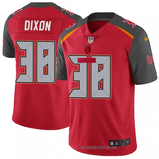 Nike D'Cota Dixon Tampa Bay Buccaneers Limited Red Team Color Vapor Untouchable Jersey - Youth