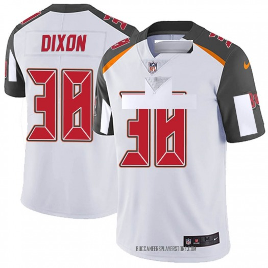 Nike D'Cota Dixon Tampa Bay Buccaneers Limited White Vapor Untouchable Jersey - Youth