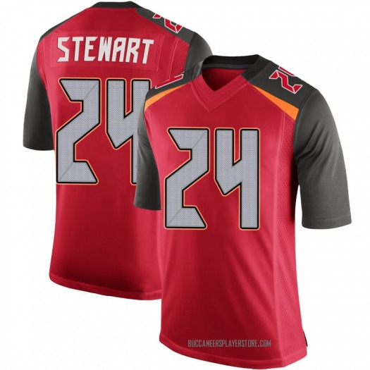 Nike Darian Stewart Tampa Bay Buccaneers Limited Red 100th Vapor Jersey - Youth