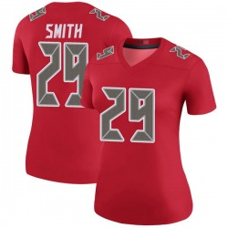 Nike Ryan Smith Tampa Bay Buccaneers Legend Red Color Rush Jersey - Women's