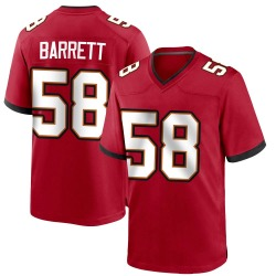 Nike Shaquil Barrett Tampa Bay Buccaneers Game Red Team Color Jersey - Youth