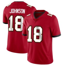 Nike Tyler Johnson Tampa Bay Buccaneers Limited Red Team Color Vapor Untouchable Jersey - Men's