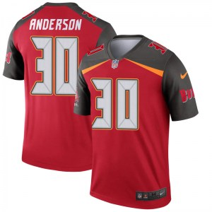 Nike Bruce Anderson Tampa Bay Buccaneers Legend Red Jersey - Youth