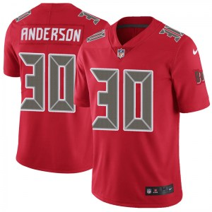 Nike Bruce Anderson Tampa Bay Buccaneers Limited Red Color Rush Jersey - Men's