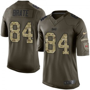 Nike Cameron Brate Tampa Bay Buccaneers Limited Green Salute to Service Jersey - Youth