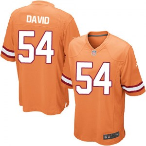 Nike Lavonte David Tampa Bay Buccaneers Limited Orange Glaze Alternate Jersey - Youth