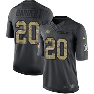 Nike Ronde Barber Tampa Bay Buccaneers Limited Black 2016 Salute to Service Jersey - Men's