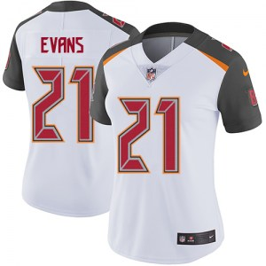 Nike Justin Evans Tampa Bay Buccaneers Limited White Jersey - Women's