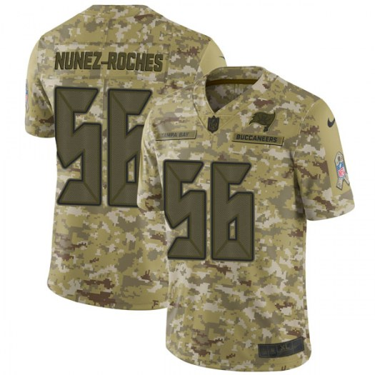 Nike Rakeem Nunez-Roches Tampa Bay Buccaneers Limited Camo 2018 Salute to Service Jersey - Men's