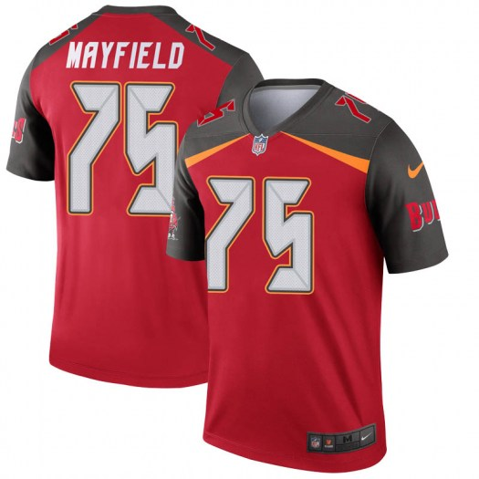 Nike Riley Mayfield Tampa Bay Buccaneers Legend Red Jersey - Men's