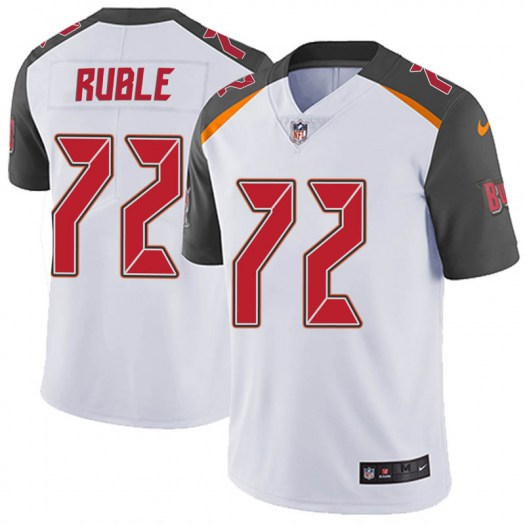 Nike Brock Ruble Tampa Bay Buccaneers Limited White Vapor Untouchable Jersey - Youth