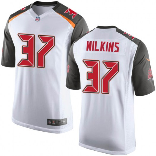 Nike Mazzi Wilkins Tampa Bay Buccaneers Game White Jersey - Youth