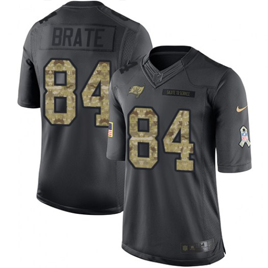 Nike Cameron Brate Tampa Bay Buccaneers Limited Black 2016 Salute to Service Jersey - Youth