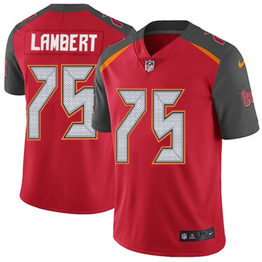 Nike Davonte Lambert Tampa Bay Buccaneers Limited Red Team Color Jersey - Men's